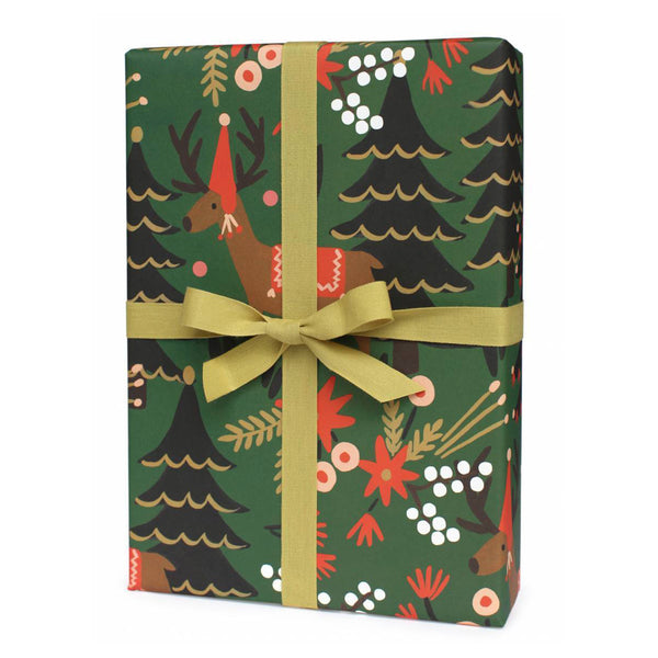 Rifle Paper Co. Reindeer Christmas Gift Wrap