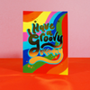 Eleanor Bowmer Groovy Birthday Card (Retro 9)