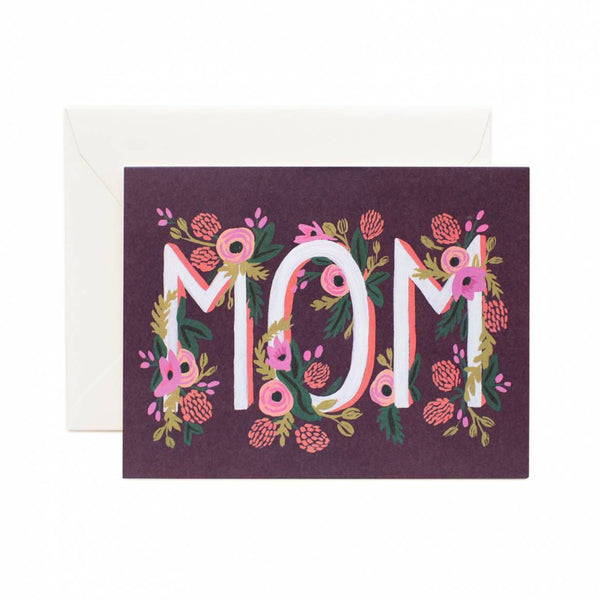 Rifle Paper Co. Rosy Blooms 'Mom' Card
