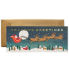 Rifle Paper Co. Santa's Sleigh Christmas Card