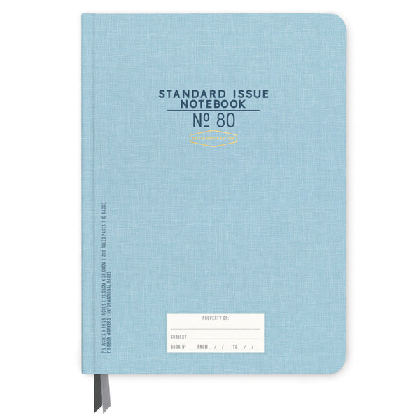 Designworks Ink Standard Issue No.80 Notebook - Blue
