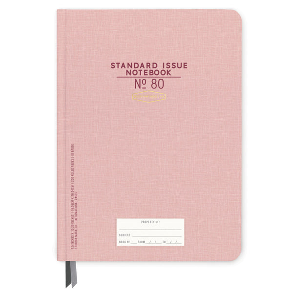 Designworks Ink Standard Issue No.80 Notebook - Dusty Pink
