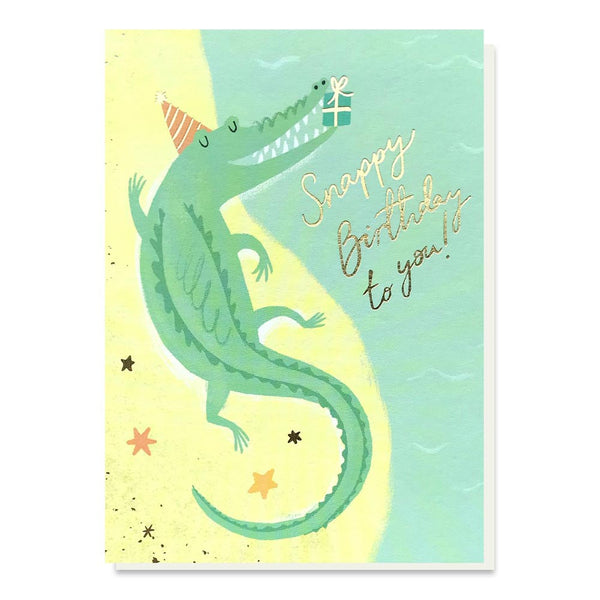 Stormy Knight Snappy Birthday Card
