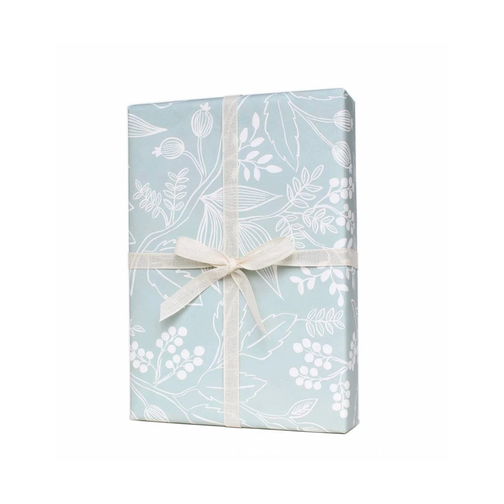 Rifle Paper Co. Spearmint Blossoms Gift Wrap