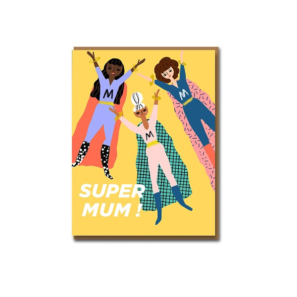 Carolyn Suzuki Super Mum Mother's Day Card