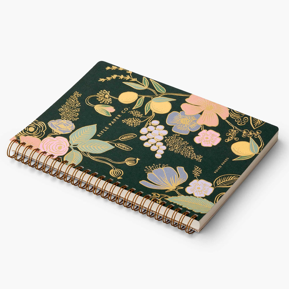 Rifle Paper Co. Spiral Notebook - Colette