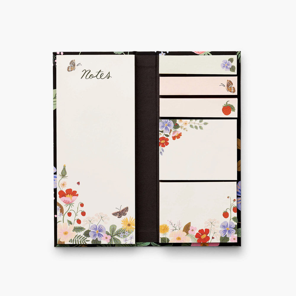 Rifle Paper Co. Sticky Note Folio - Strawberry Fields