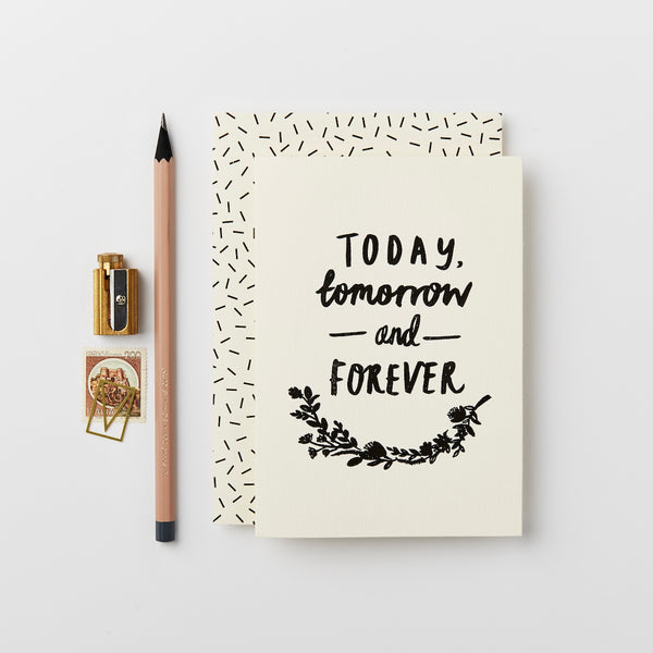 Katie Leamon Today, Tomorrow & Forever Card