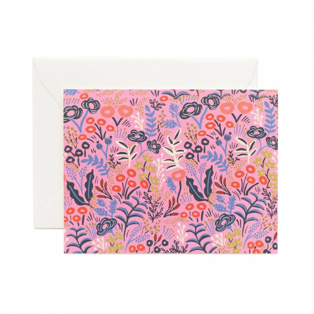 Rifle Paper Co. Tapestry Violet Card