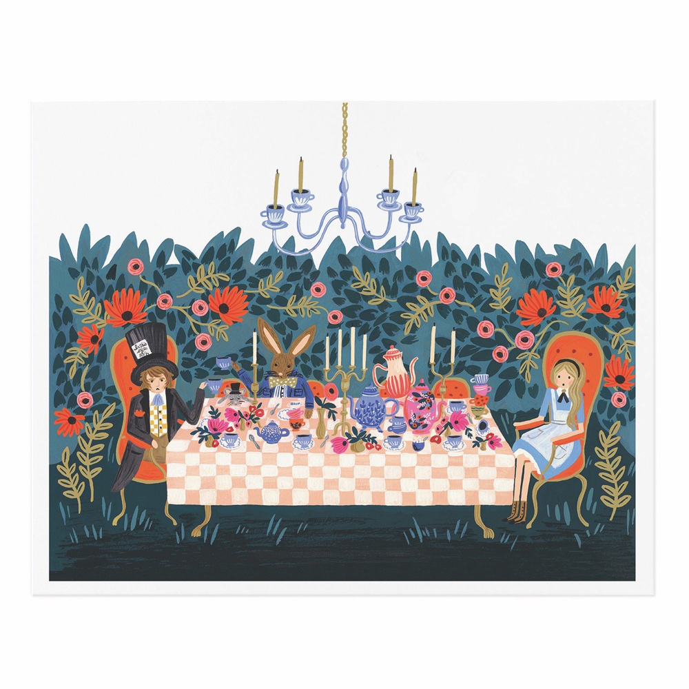 Rifle Paper Co. Tea Party Art Print