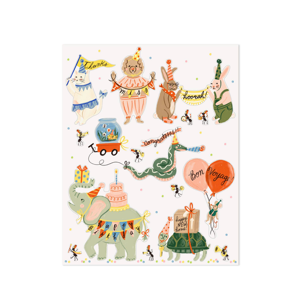 Little Low The Pet Parade Sticker Set