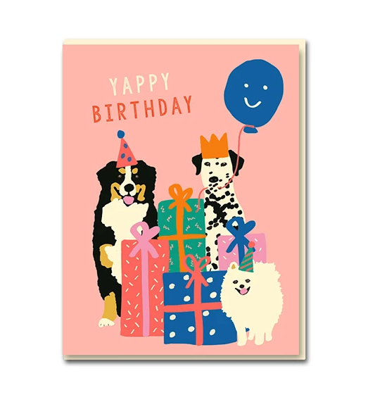 Emma Cooter The Dogs Card