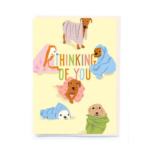 noi Thinking Of You Sympathy Card