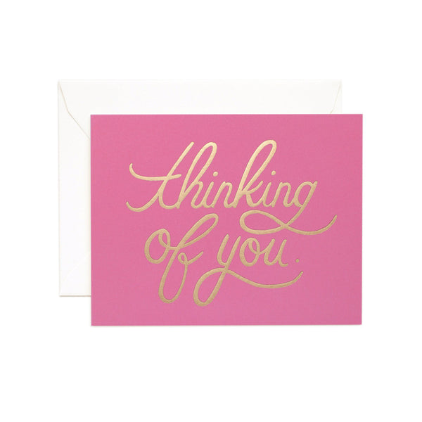 Rifle Paper Co. Thinking of You Card (PINK)