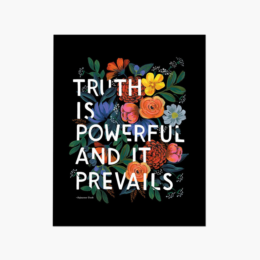 Rifle Paper Co. Truth Quote Art Print