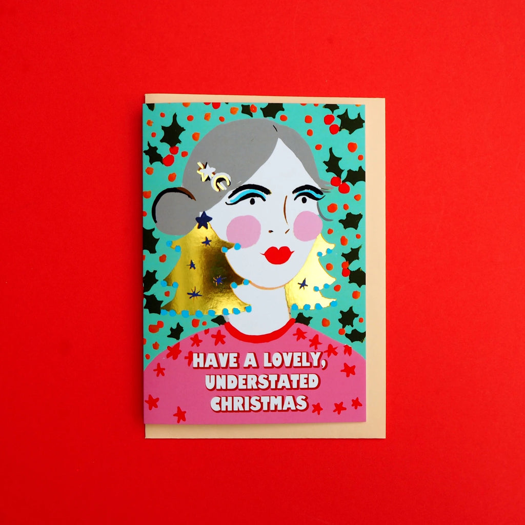 Eleanor Bowmer Understated Christmas Card
