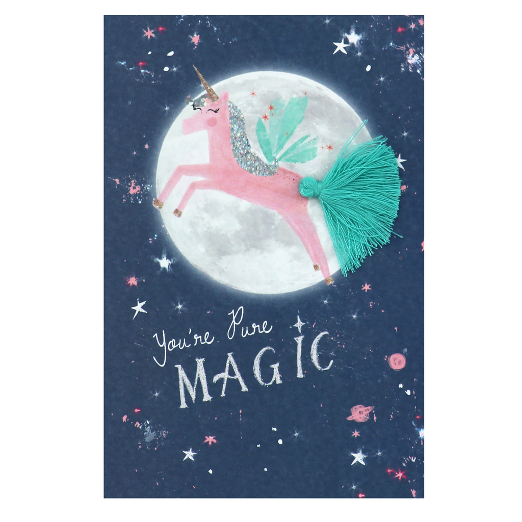Meraki Unicorn Birthday Card