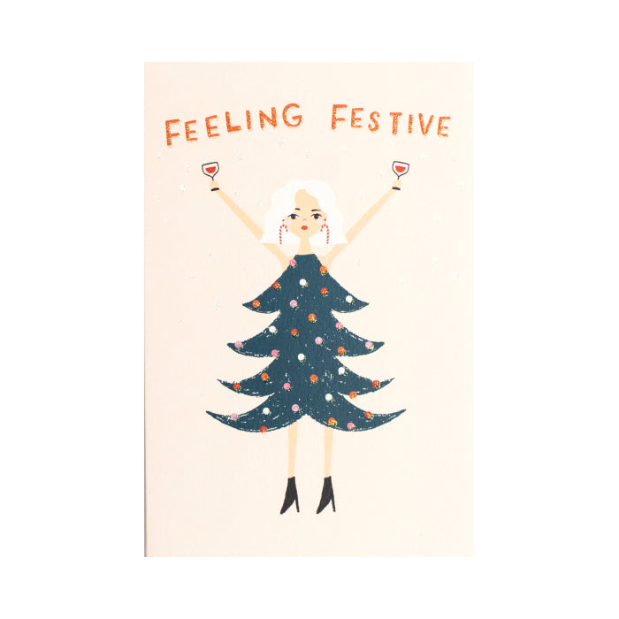 Meraki Feeling Festive Christmas Card