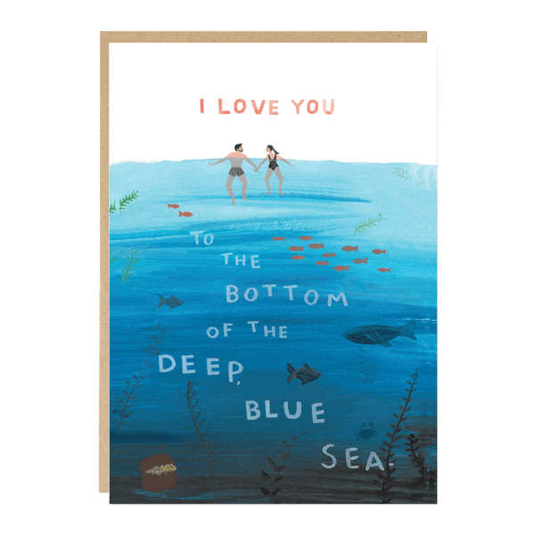 Jade Fisher Oxwich Card - Deep Blue Sea