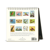 Cavallini & Co. 2020 Vintage Birds Desk Calendar All views