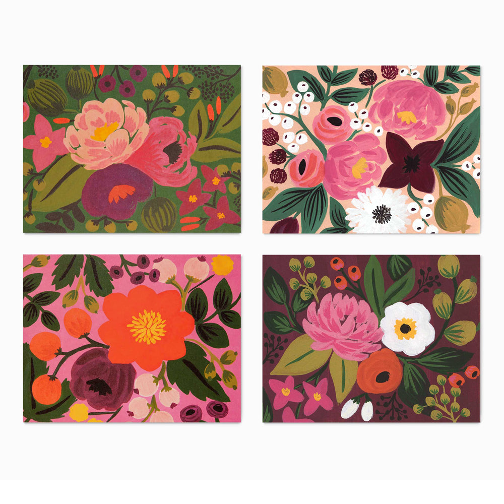 Rifle Paper Co. Vintage Blossoms Assorted Card Set