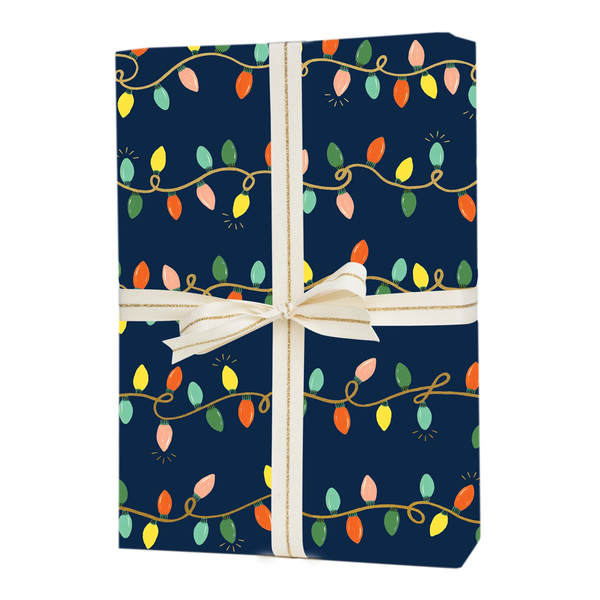 Rifle Paper Co. Holiday Lights Christmas Gift Wrap