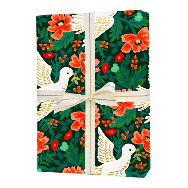 Rifle Paper Co. Peace Dove Christmas Gift Wrap