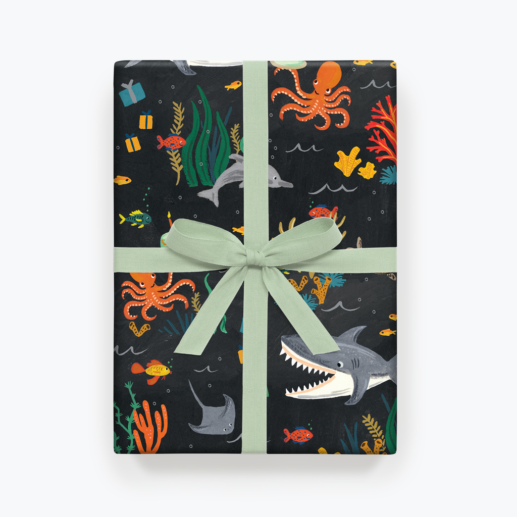 Rifle Paper Co. Under the Sea Gift Wrap
