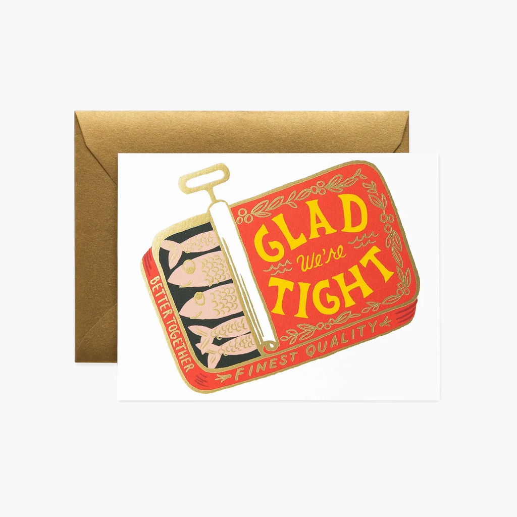 Rifle Paper Co. We're Tight Greeting Card