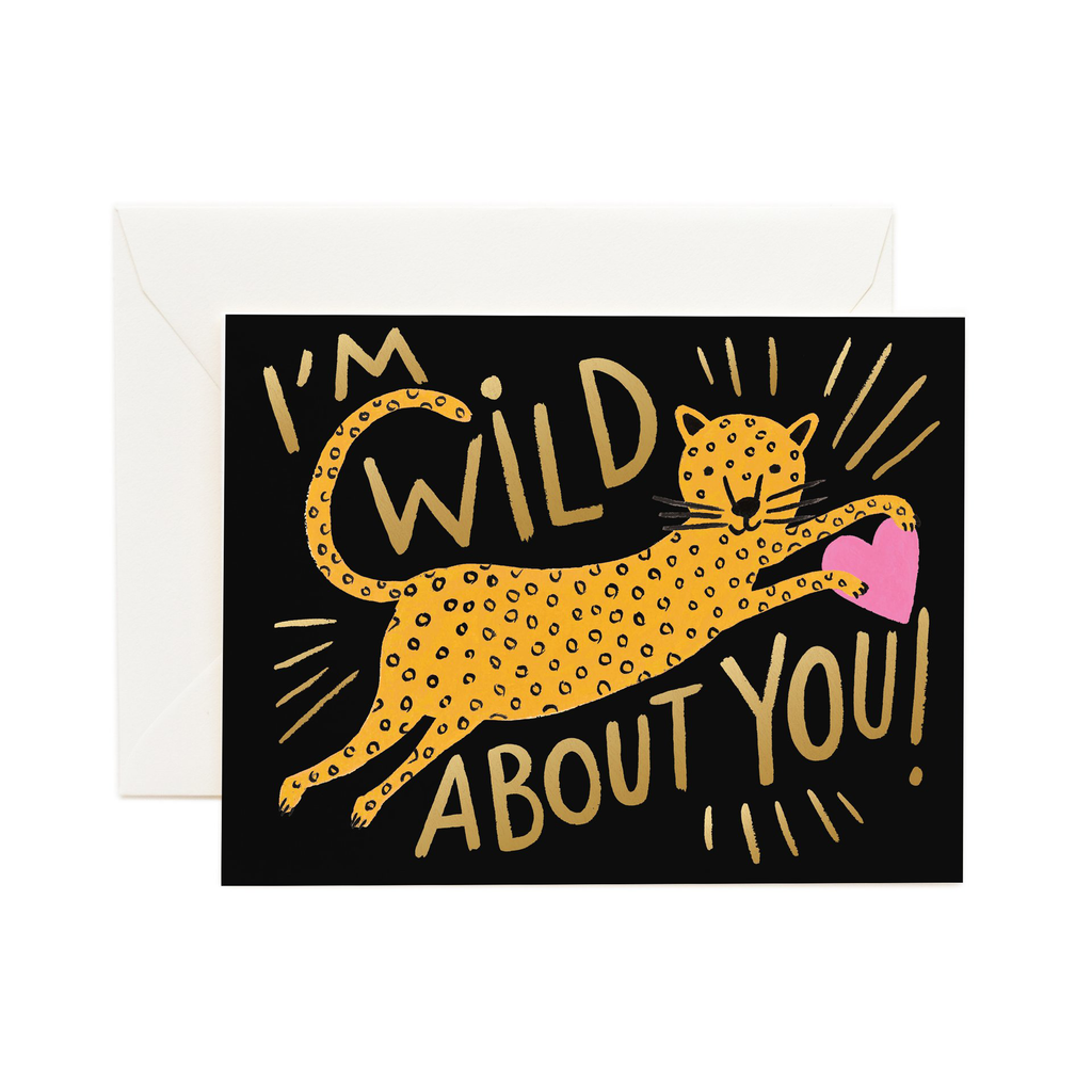 Rifle Paper Co. Wild About You Card