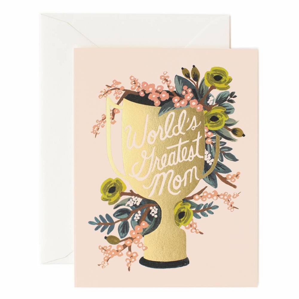 Rifle Paper Co. World's Greatest Mom Card