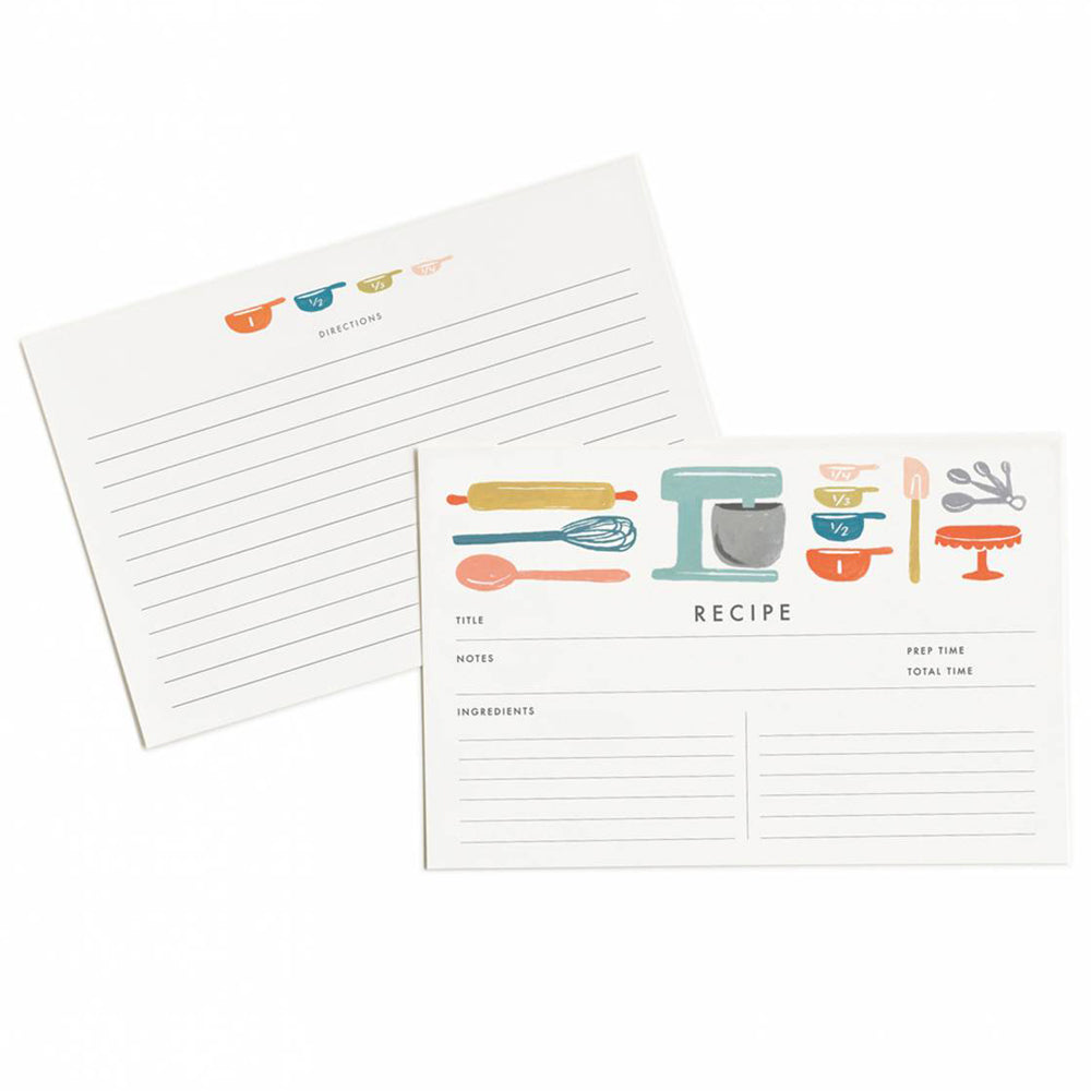 Rifle Paper Co. Baker's Recipe Cards