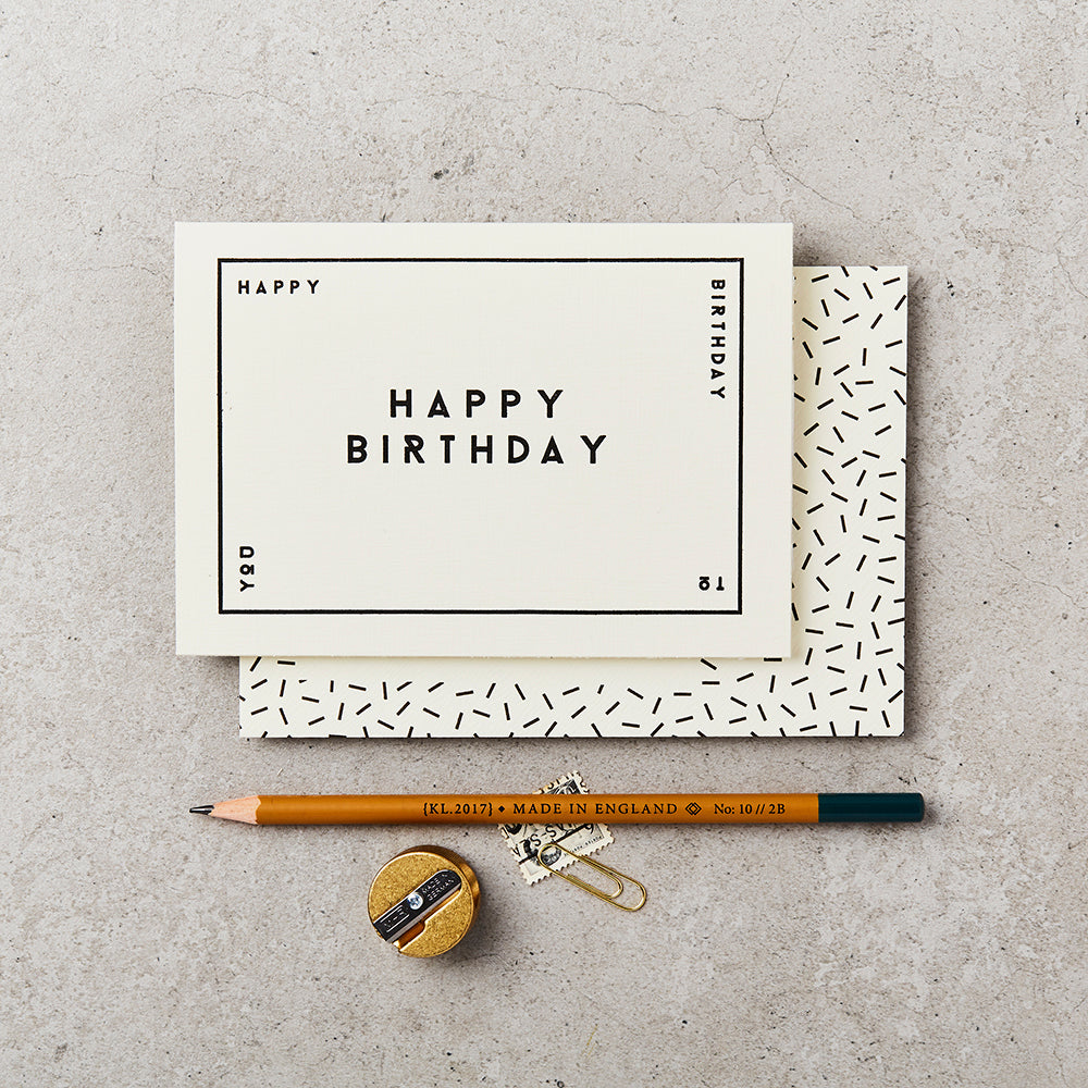 Katie Leamon Happy Birthday Boxed Card