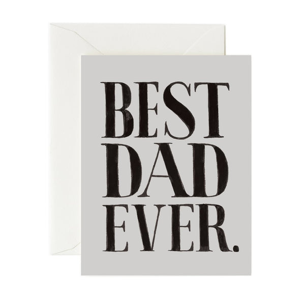 Rifle Paper Co. Best Dad Ever Card
