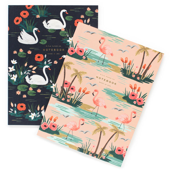 Rifle Paper Co. Pair of Birds of a Feather Notebooks