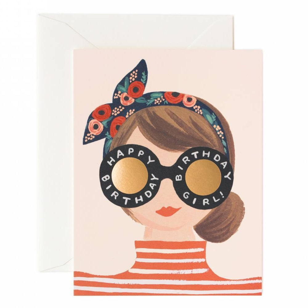 Rifle Paper Co.Birthday Girl Card