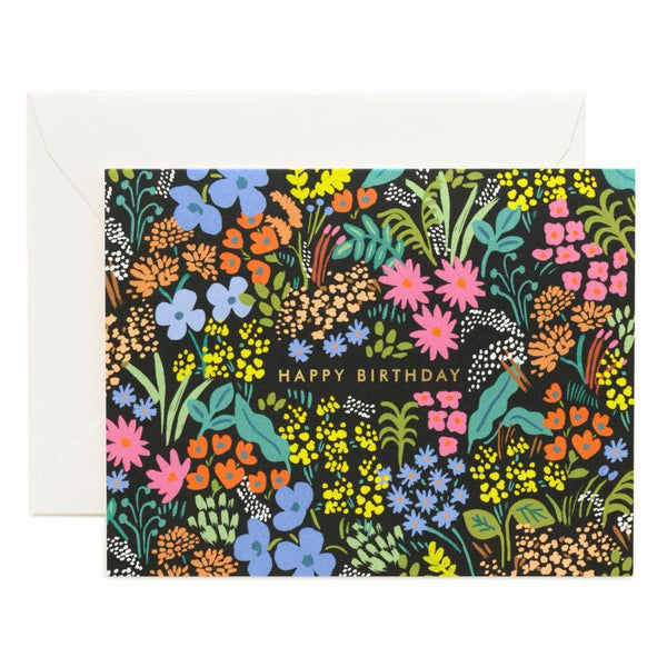 Rifle Paper Co. Birthday Meadow Card