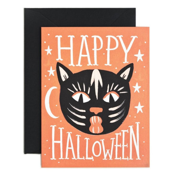 Rifle Paper Co. Black Cat Halloween Card