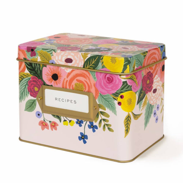 Rifle Paper Co. Juliet Rose Recipe Box