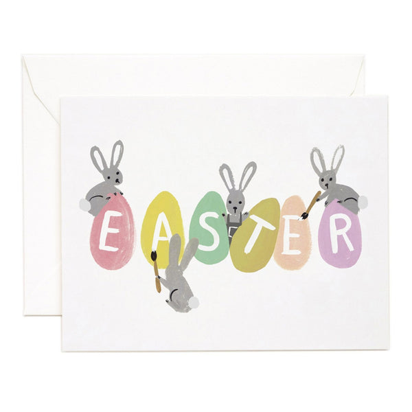 Rifle Paper Co. Busy Bunnies Easter Card