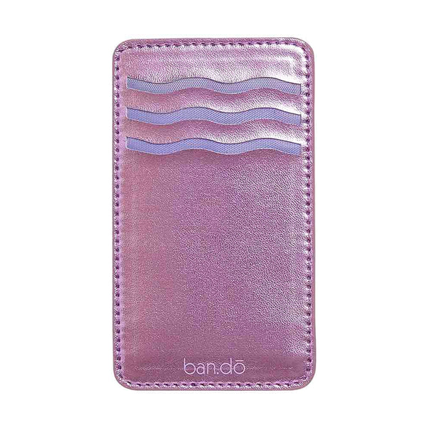 Ban.do Better Together Adhesive Card Holder - Lilac