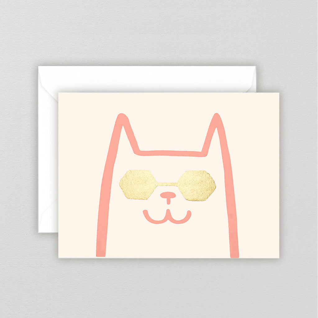 Alice Bowsher Cat Card