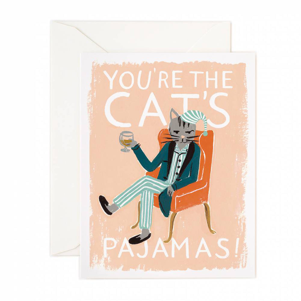 Rifle Paper Co. You're The Cat's Pajamas Card
