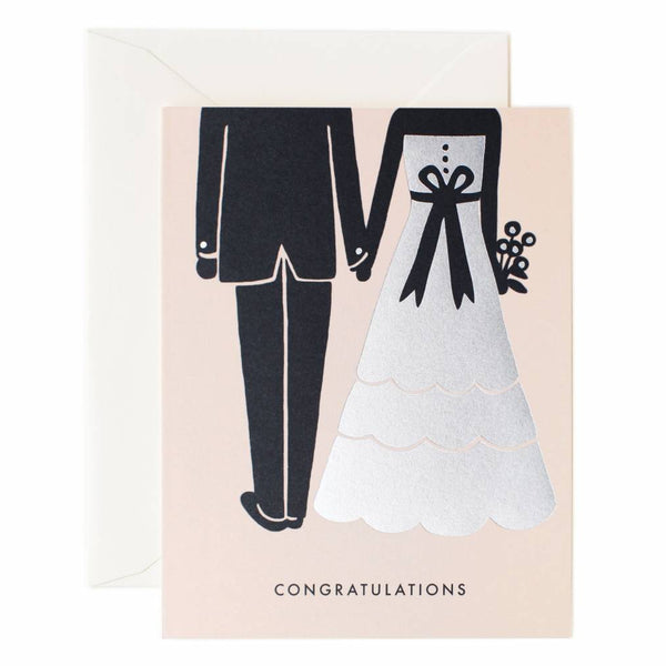 Rifle Paper Co. Congrats Beginnings Card