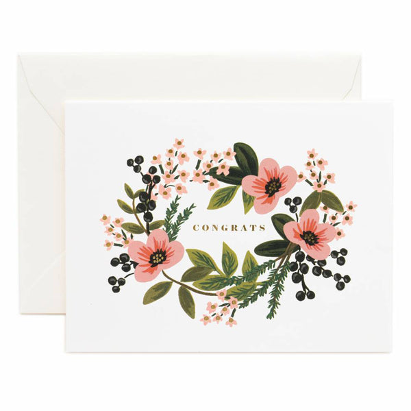 Rifle Paper Co. Congrats Bouquet Card