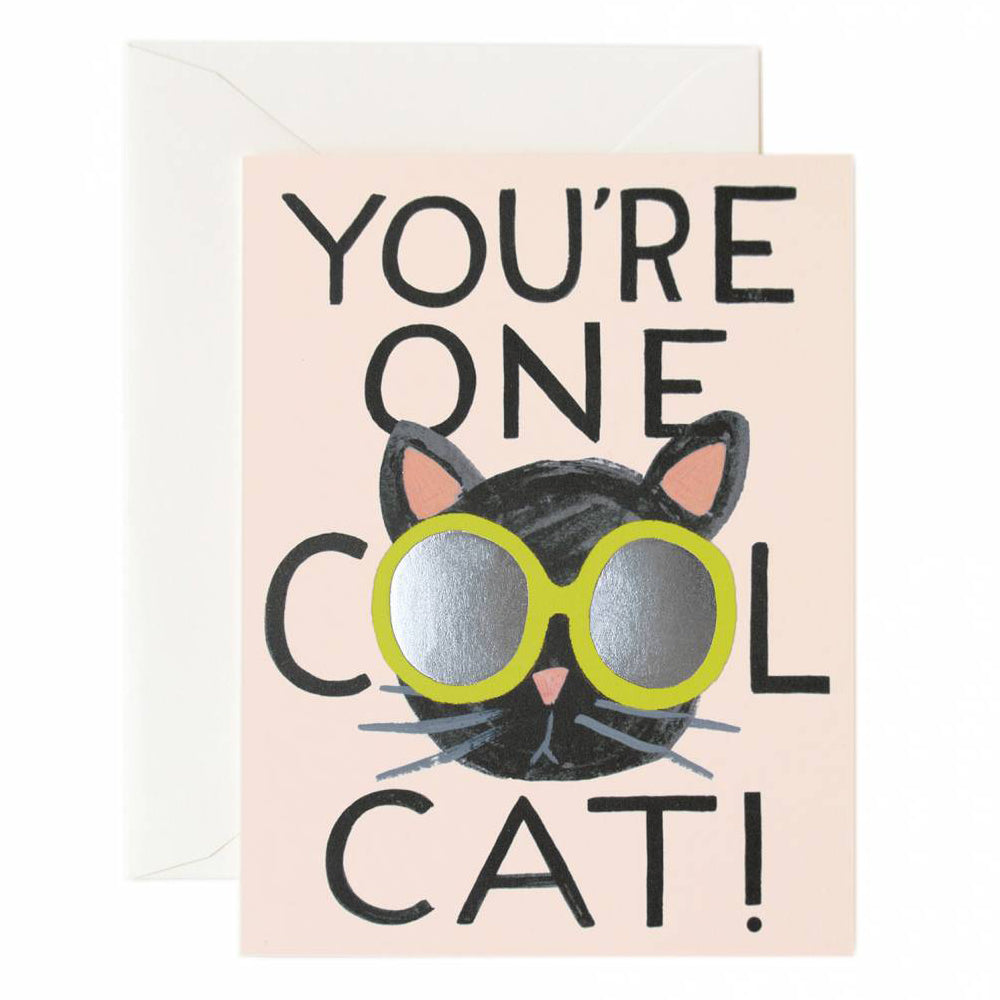 Rifle Paper Co. Cool Cat Card