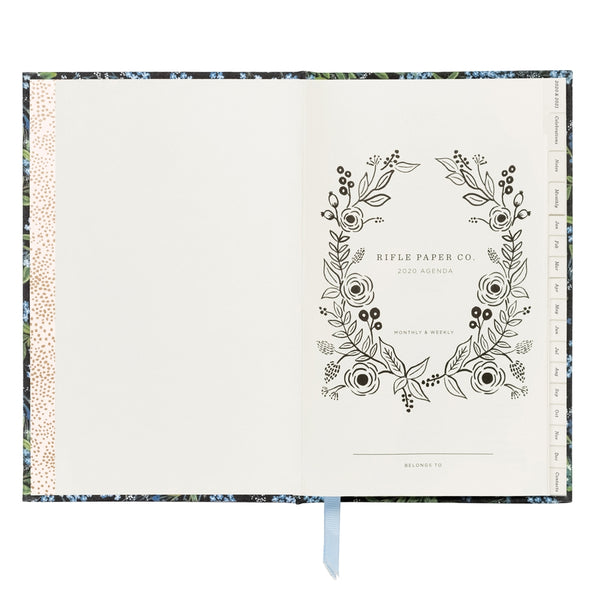 Rifle Paper Co. Cornflower 2020 Hardcover Agenda