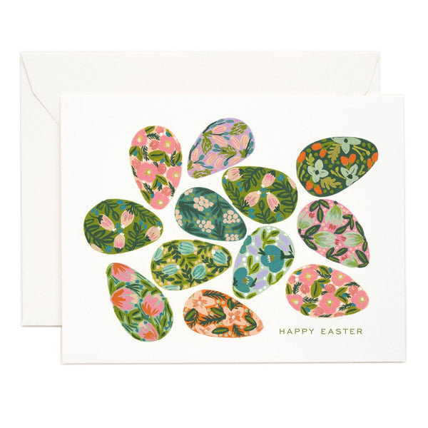 Rifle Paper Co. Decorated Easter Egg Card
