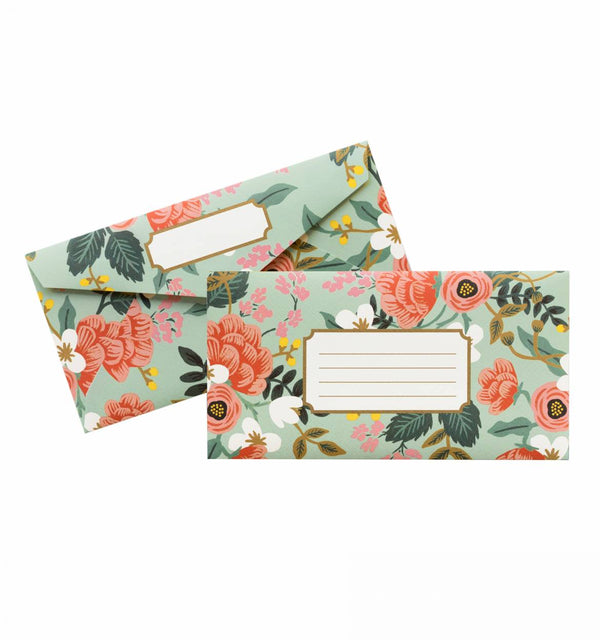 Rifle Paper Co. Birch Monarch Mint Envelopes