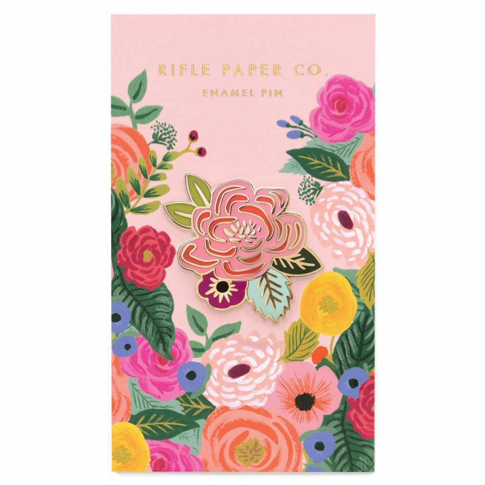 Rifle Paper Co. Juliet Rose Enamel Pin